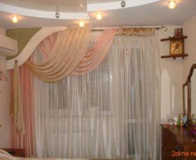 Фото - шторы с ламбрекеном