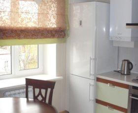 Римские шторы на кухню - фото