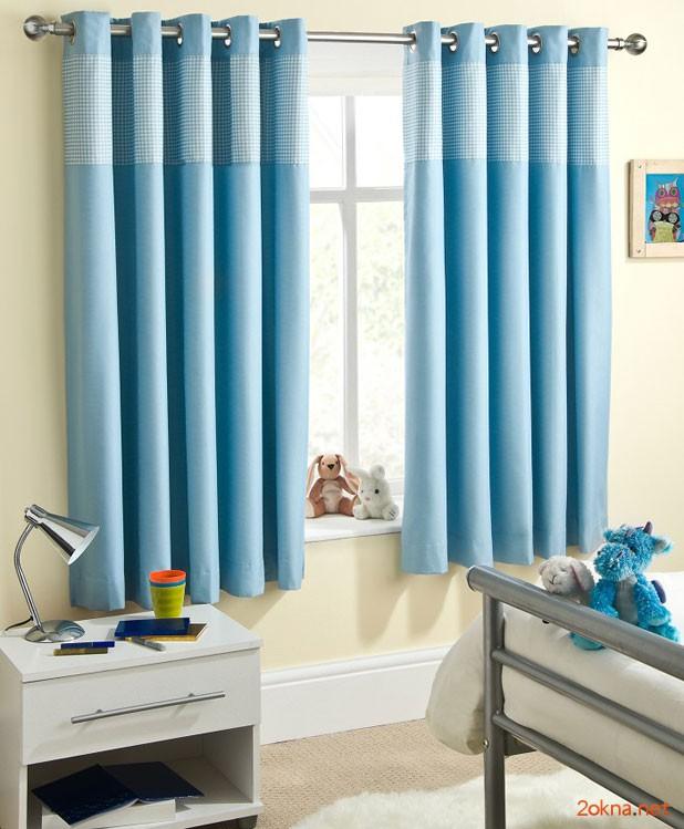 Фото - шторы блэкаут в детской комнате мальчика