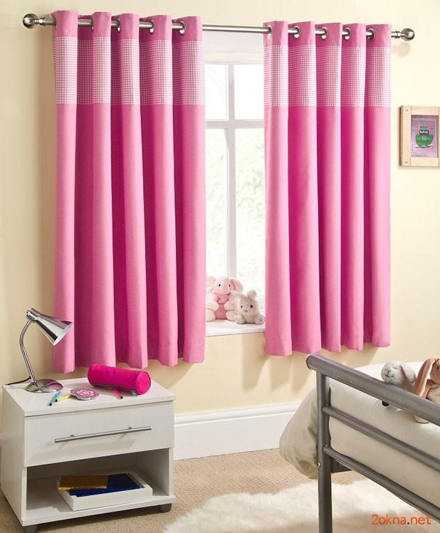 Фото - шторы блэкаут в детской комнате девочки