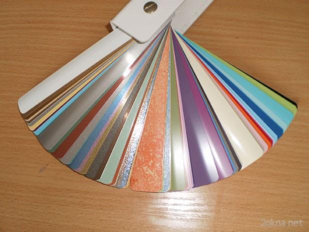 Цветовое разнообразие кассетных жалюзи