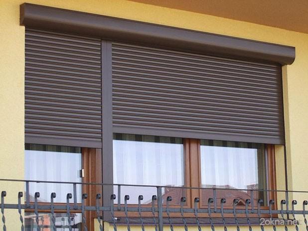 Ролеты на пластиковые окна
