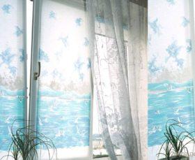 Ролл шторы с фотопечатью на пластиковом окне