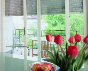 Алюминиевые ролеты на пластиковые окна