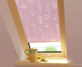 Тканевые ролеты на окна - фото