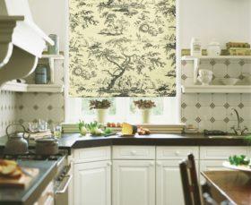 Ролл-шторы на кухне