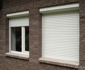 Рольставни на пластиковые окна для дачи