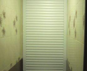Сантехнические рольставни в туалет