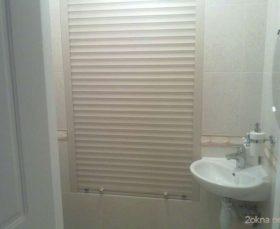 Рольставни для туалета