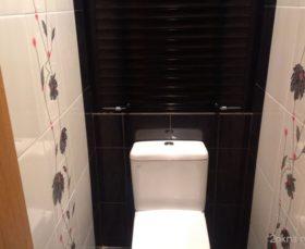 Фото - сантехнические рольставни в туалет