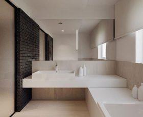 Фото - тканевые ролеты в помещении в стиле минимализм
