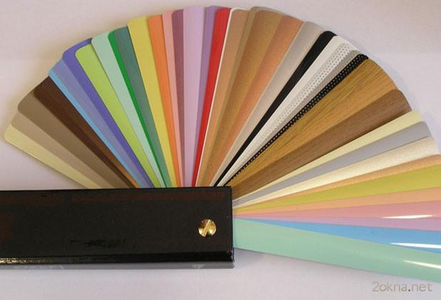 Цветовая палитра жалюзи Изолайт