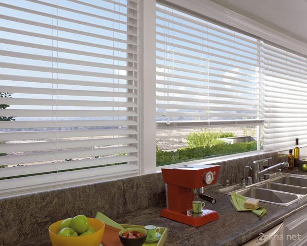 Алюминиевые жалюзи на пластиковые окна