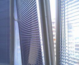 Жалюзи изолайт на пластиковые окна