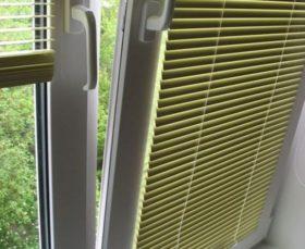 Горизонтальные жалюзи изолайт на пластиковые окна