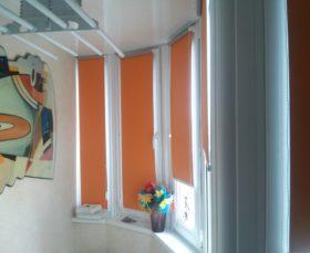 Рулонные шторы - фото