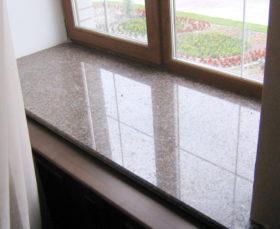 Подоконник из искусственного камня для пластиковых окон