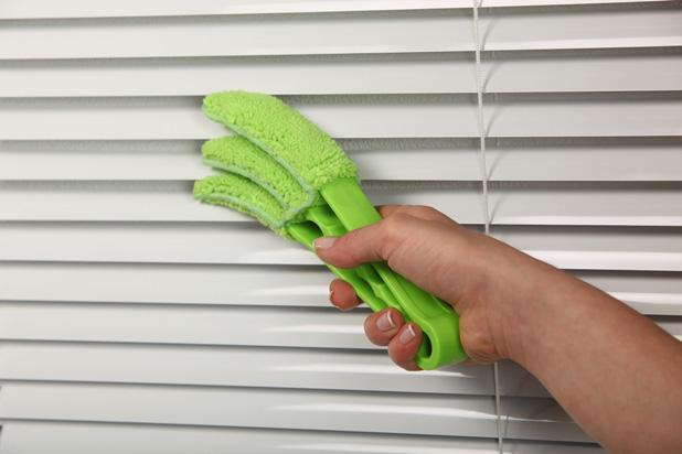 Щетка для мытья жалюзи - фото