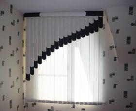 Мультифактурные жалюзи в интерьере квартиры - фото