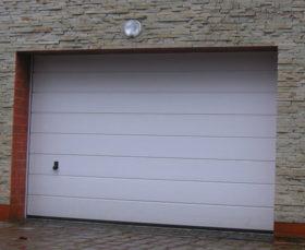 Секционные ворота от производителя для гаража
