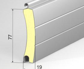 Профиль рулонных ворот AG77