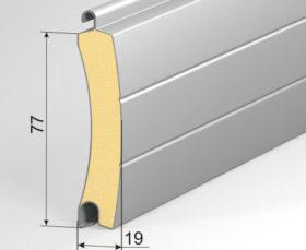 Профиль рулонных ворот AG77H