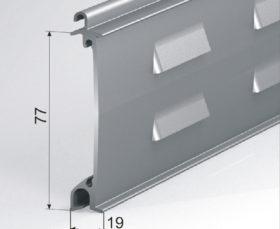 Профиль рулонных ворот EA/77