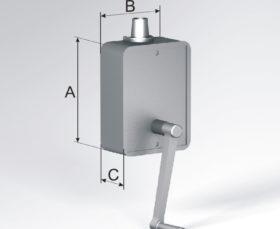 Кордовый привод для рулонных ворот