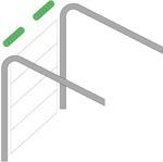 Стандартный монтаж подъемно-секционных ворот