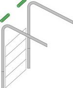 Высокий монтаж подъемно-секционных ворот