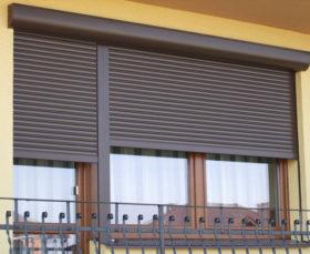 Защитные рольставни на окна