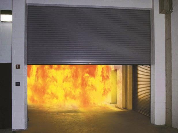 Противопожарные рольставни