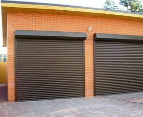 Рольставни - гаражные ворота