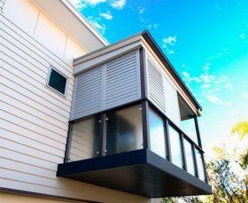 Рольставни для балкона - фото